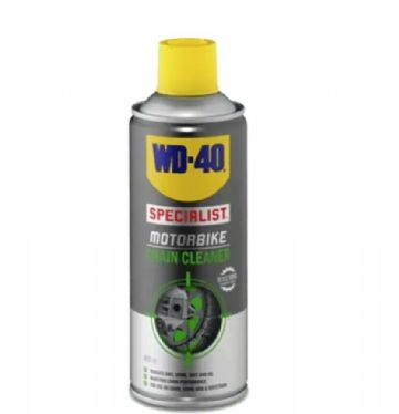 WD-40 Specialist Motorcycle Motorbike Universal O, X & Z Chain Cleaner - 400ml